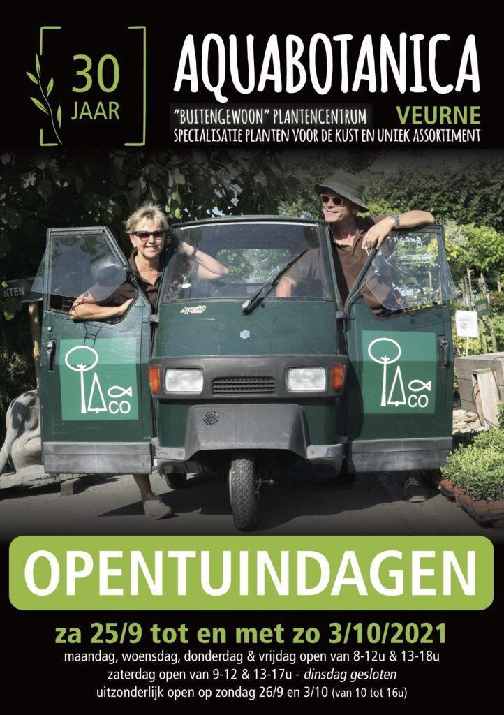 Open Tuindagen 2021 kortingen